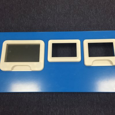 Family of Bezels for use in Medical Enviroments